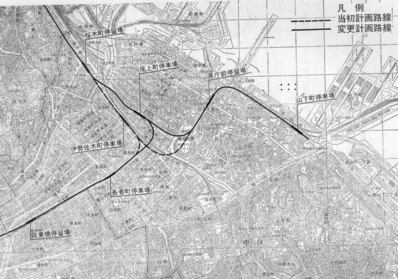 市営地下鉄 路線計画図