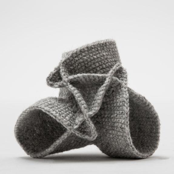 Boysche Fläche (Mathematik häkeln)   Wolle gehäkelt   2017   Foto: Michael Kofler