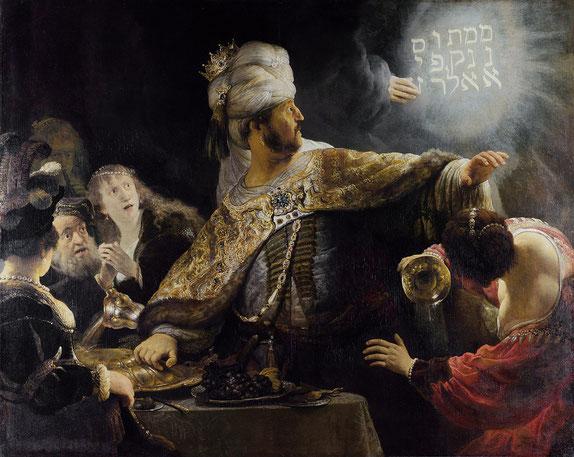 Belsazars Gastmahl