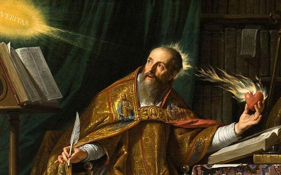 San Agustín de Hipona, doctor de la Iglesia