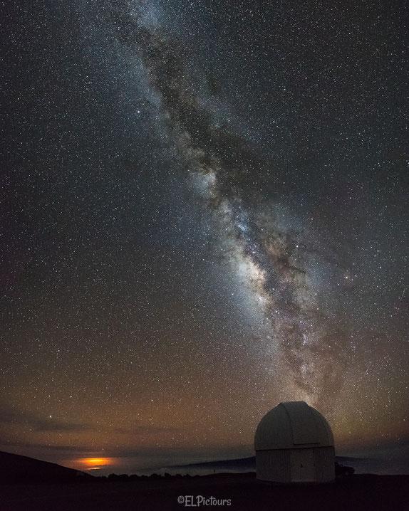 Milchstraße, Milky way, Mauna Kea, Big Island, Hawaii
