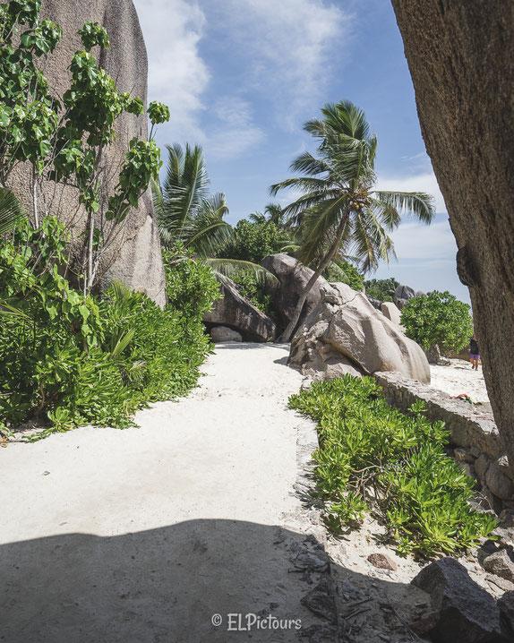 Seychellen, La Digue, Anse Source d'Argent, L'Union Estate