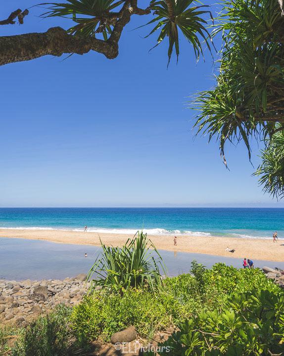 Hanakapiai Beach, Kalalau Trail, Napali Coast, Kaua'i, Hawai'i