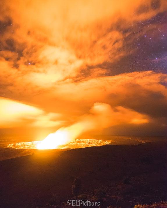 Kilauea Krater, Big Island Hawaii
