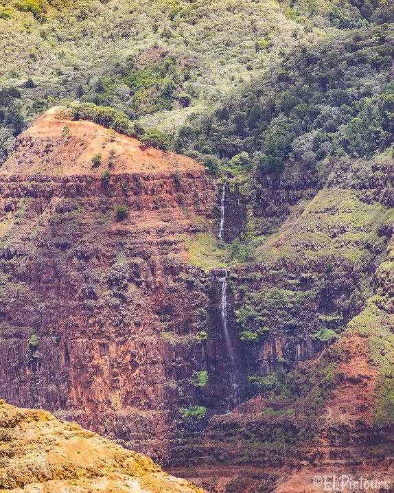 Waipu Waterfall, Waimea Canyon, Kauai, Hawaii