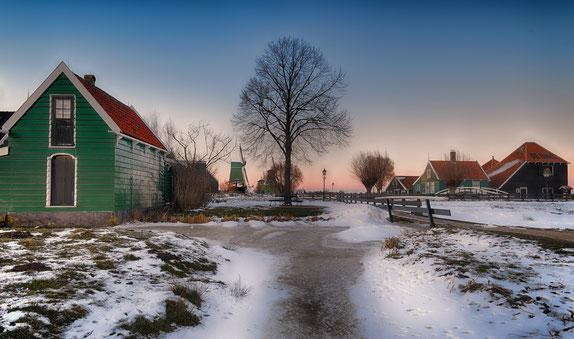 660 Zaanse Schans in winterse omstandigheden (0478)