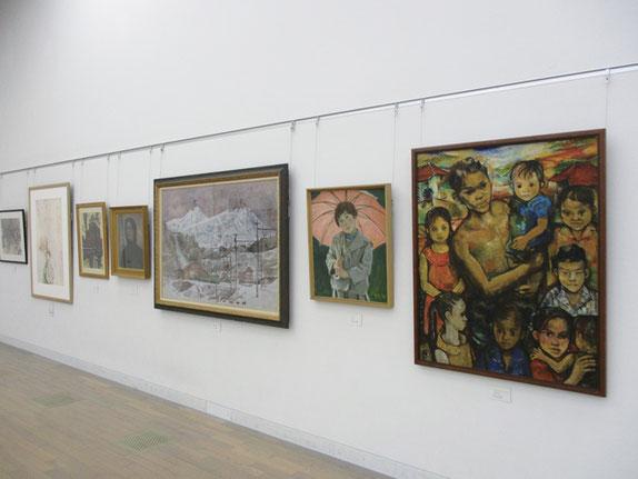 70 回記念日本アンデパンダン展特別企画展示 「春を待ち、闘った、激動の60 年代美術」より