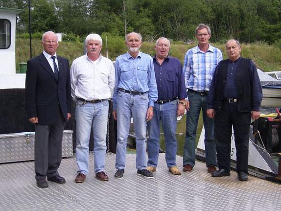 Der Vorstand des MBV Höxter im Jahr 2005