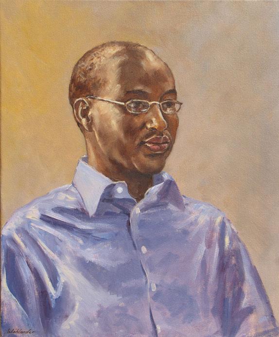 Tony Wahlander (Wåhlander) peint aussi de nombreux portraits, ici celui du Père Fidel