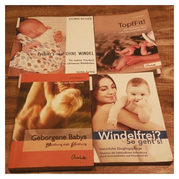 Literatur zum Thema Windelfrei