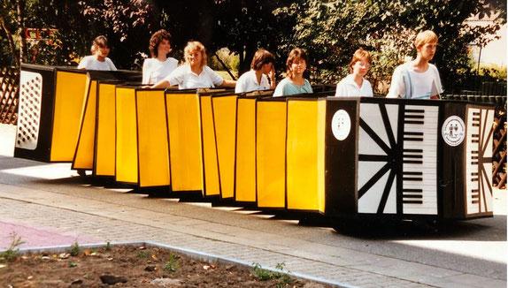 Teilnahme am Kerbeumzug in Weiterstadt 1986