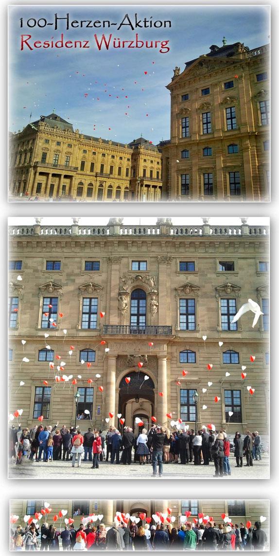 100 Herzen - Residenz Würzburg
