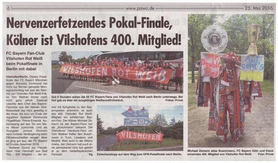 Passauer Woche   25. Mai 2016