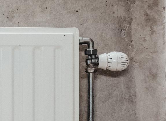 Thermostatventil des Heizkörpers bei der Lüftung nicht abdrehen