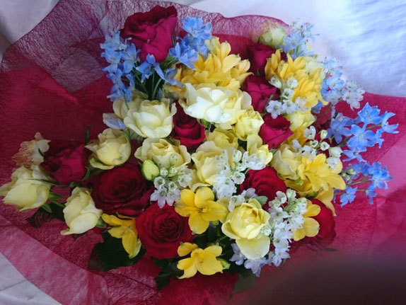 出演祝花束