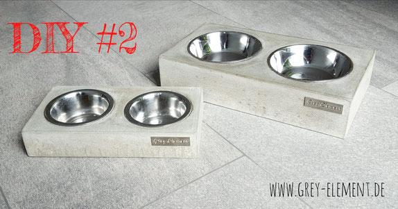 DIY Futternäpfe für Hunde und Katzen