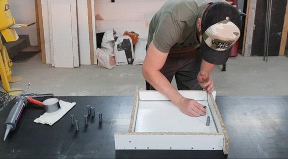 Kaminholzregal selber machen -DIY-
