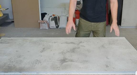 Berühmt Einen Tisch aus Beton selber machen -DIY- - Betonmöbel einfach RK86