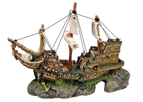 Nobby 28152 Aquarium Dekoration Aqua Ornaments, Schiff