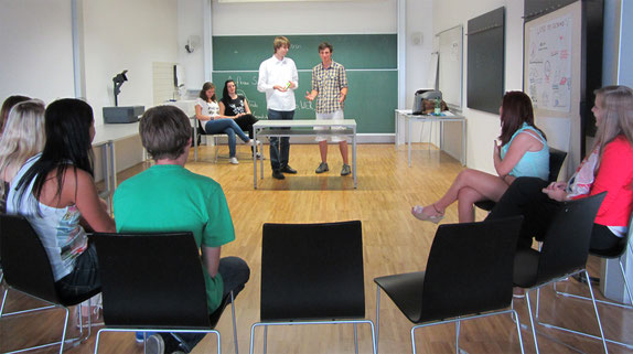 Talentecamp, Workshopleitung Neidhart Karin