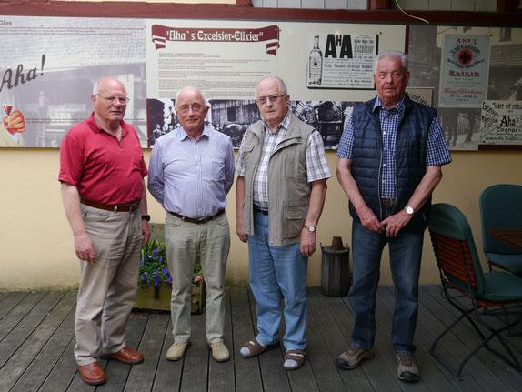 Der alte und neue Vorstand der Senioren-Union Hünfeld (von links): Werner Hegmann, Ewald Marschall, Josef Trabert, Helmut Arnreich