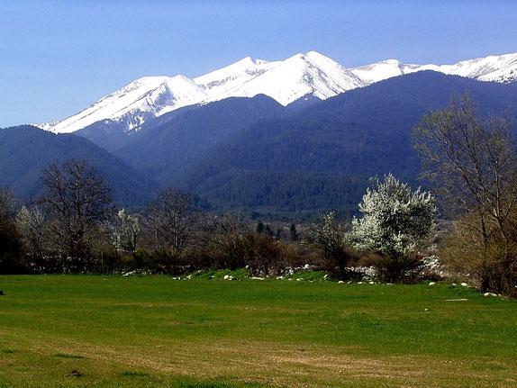 Panorama mit Blick von Nordwesten