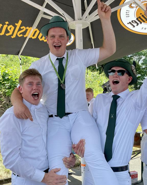 Benedikt Falke und Martha Susewind