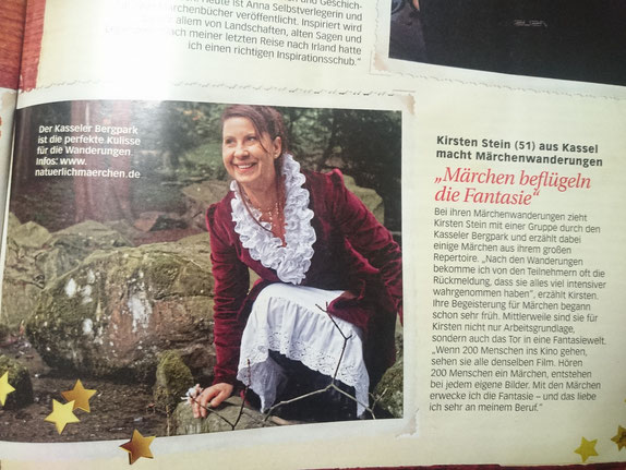 Märchenerzählerin und Erzählkunst - Kirsten Stein aus Kassel