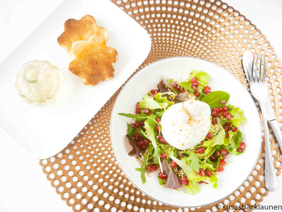 Salat mit Burratina