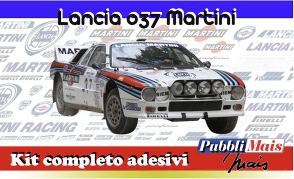 costo prezzo kit adesivi sponsor lancia rally 037 martini pubblimais online shop
