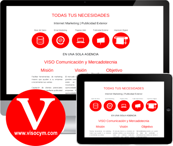 Diseño de Pagina Web Corporativa y Tienda Online