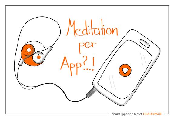 Headspace bietet den einfachen Einstieg in die Meditation per App
