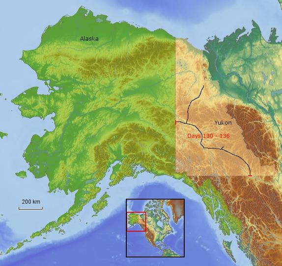 Route Yukon 1