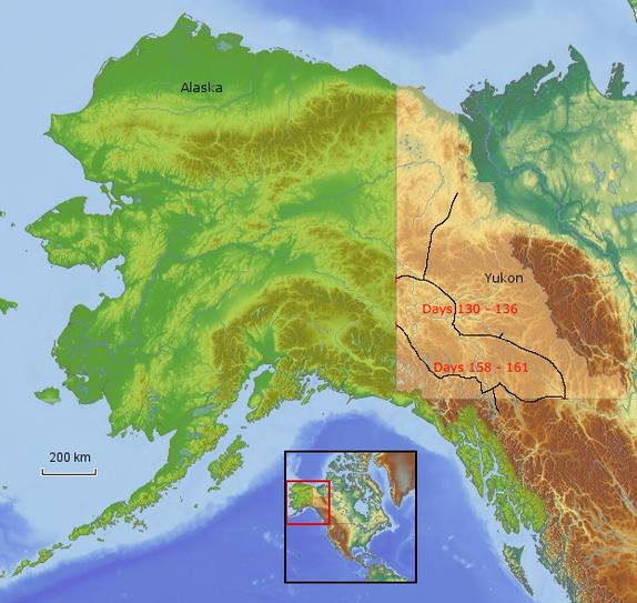 Route Yukon 2