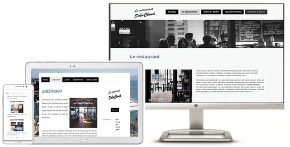 création site web pour restaurant