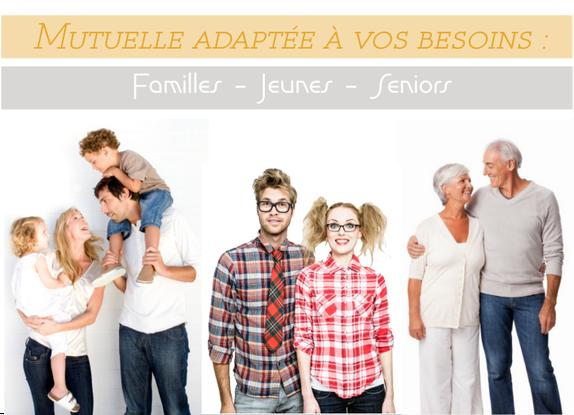 Mutuelles familiale Seniors Couple jeunes familles seniors comparatif comparaison comparateur adresse mutuel en ligne