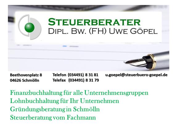 Steuerbüro Göpel - Steuerberatung vom Fachmann