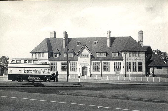 The Maypole public house c1950s - from Chris Myers' Home Guard website