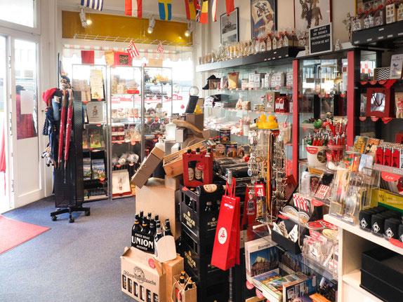 Bremen Shop Schnoortreppe von innen