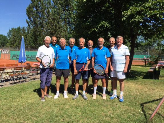 Walter Ruffing, Günter Unfried, Hans Hackenberg, Georg Schröder, Lorenz Strohmeier, Gerhard Moschner, Max Schuster, Franz Keser, Nick Kuhn