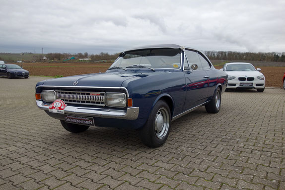 Autohaus Cars & More Sachsenheimer Opel Rekord C Coupe Oldtimer