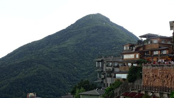 Keelung Mounten, Berg Taiwan, Wandern, Jiufen, Aussicht, Viewpoint, Old Streets, Ruifang, Bergort