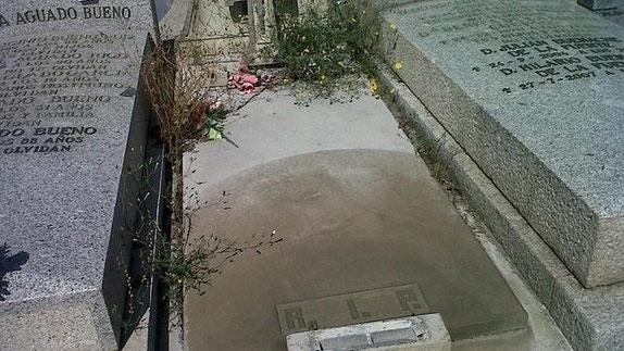 Estado de una de las 51 tumbas (ABC.es)