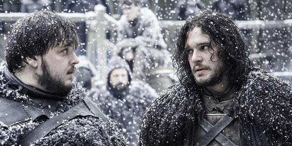 Jon, müssen wir noch lange warten? - Weiß nicht. Als du mich das letzte Mal gefragt hast, hab ich meine Beine noch gespürt.