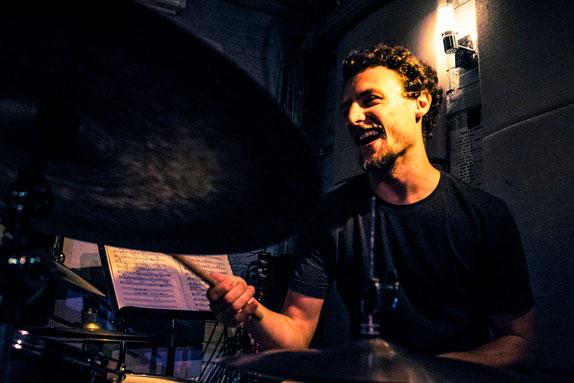 Baptiste Thiébault, batterie, improvisation