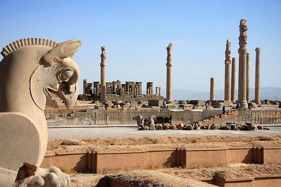 Древний персидский город Персеполь