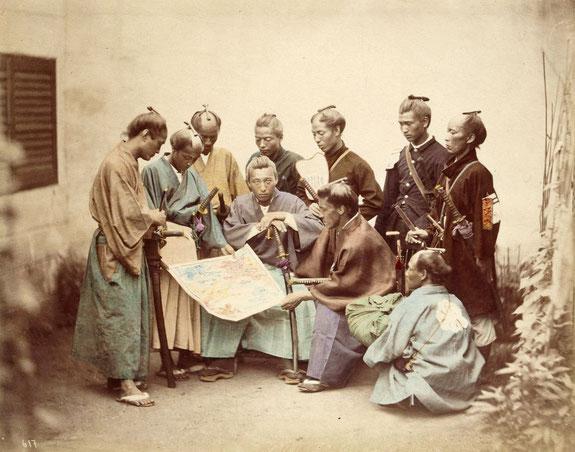 Derniers samuraïs pendant la guerre de Boshin - sources Wikipedia
