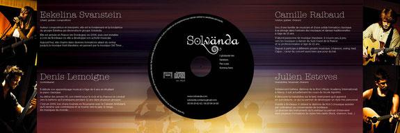 Livret CD Solvanda
