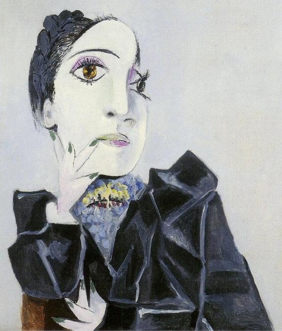 パブロ・ピカソ「緑色の爪のドラ・マール」(1936年)