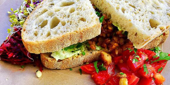 tempeh sandwich no 58 speiserei berlin